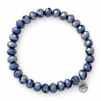 Clarksville Winter Blue Sparkle Bracelet
