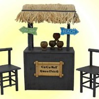 "Coconut Smoothie Shaved Ice Stand for 18"" Dolls  American Girl Furniture & Accessories"