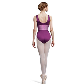 Diamond Mesh Tank Leotard