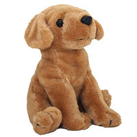 Anico Plush Toy Dog, Stuffed Animal, Golden Retriever, 8 Inches Tall