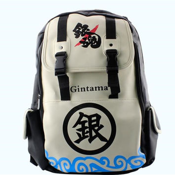 Beige Gin Tama Backpack CP153491