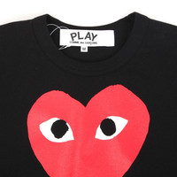 CdG Play -- Red Heart T-Shirt -- buy online -- Union Los Angeles