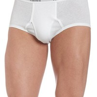 Hanes Men's Classics Full Rise Brief (Pack of 6)