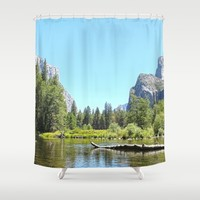YOSEMITE VALLEY Shower Curtain by Oksana Smith