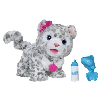 FurReal Friends Flurry, My Baby Snow Leopard Pet (Amazon Exclusive)