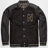 Nixon Grad Mens Jacket Black  In Sizes