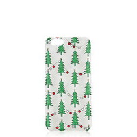 Christmas Tree iPhone 5 Case - Green