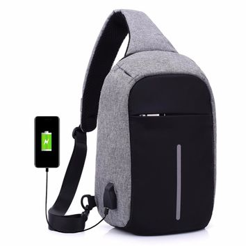 New Casual Anti Theft Chest Bag Waist Bag Nylon Waterproof Men Messenger Chest Bag Money Phone Men Sling Bag bolsas feminina
