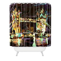 Ginette Fine Art Tower Bridge London Shower Curtain