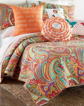 Palazzo Paisley Quilt Collection Bed From Stein Mart