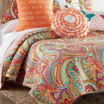 Palazzo Paisley Quilt Collection - Bed | Stein Mart - Stein Mart: US Channel