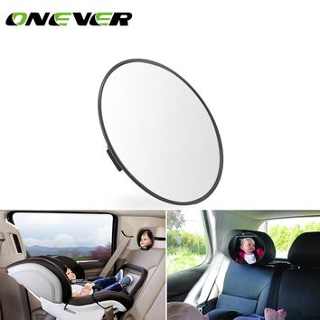 "6.7*0.6"" Car Universal Rear View Baby Mirror Rear Wide View Angle"