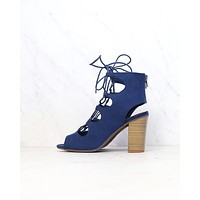 bc footwear - vivacious lace-up sandal in indigo