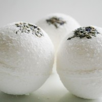 Lavender Dream Bath Bombs - Bath Bomb - Set of 3 Natural Bath Bombs