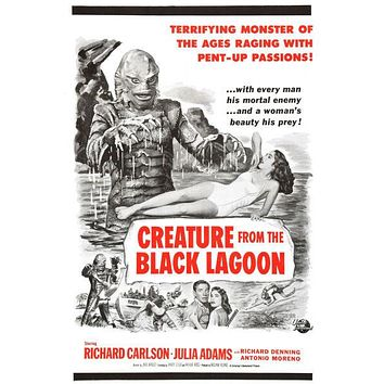 Creature From The Black Lagoon Movie Poster 11inx17in