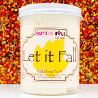LET IT FALL Whipped Body Soap Fluff 8oz