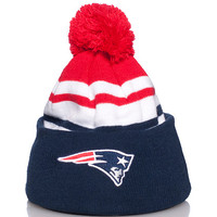 NEW ENGLAND PATRIOTS NFL WINTER BEANIE - Navy - NEW ERA
