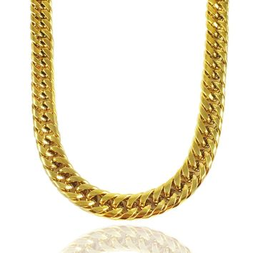 The Cuban Link Chain x Gold