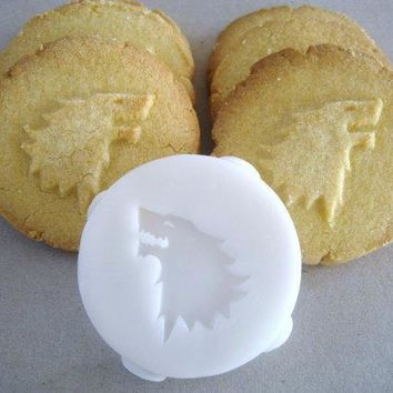 House Stark Inspired Cookie Stamp Recipe And Instructions   Make Your Own Game Of Thrones Inspired Cookies