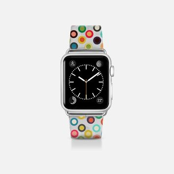 pop spot transparent apple watch band Apple Watch Band (38mm)  by Sharon Turner | Casetify