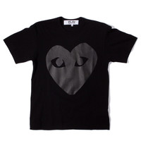 CdG Play -- Very Black Heart T-Shirt