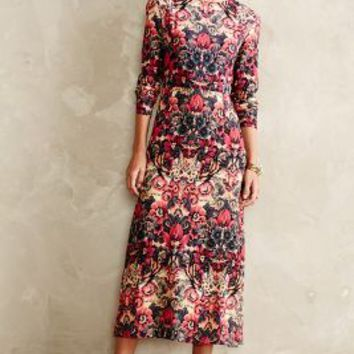 Selma Midi Dress by Sam & Lavi Red Motif