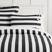 The Emily & Meritt Pajama Stripe Duvet Cover + Sham
