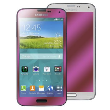 Galaxy S5 Ruby Red GlassShield Luxury Screen Protection