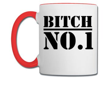 bitch no1 - Coffee/Tea Mug