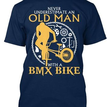 Limited Edition-Old Man With A BMX BIKE