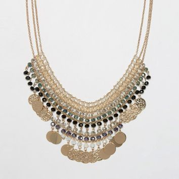ALDO Vallenetta Statement Necklace at asos.com