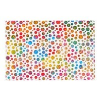 Colorful Polka Dots Balls Jolly Pattern Placemat