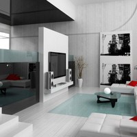 The color white in the living room decor | : Architecture Home Designs