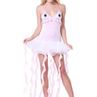 Halter V-neck Jellyfish Costume Set