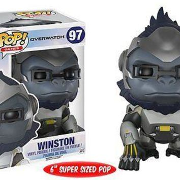 "Funko Pop Games: Overwatch - Winston 6"" Vinyl Figure"