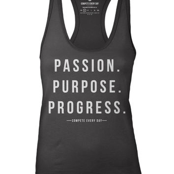 Compete Every Day Passion Women's Tank