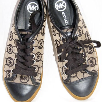 Michael Kors Black City Sneaker