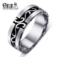 Stainless Steel Simple Ring for men