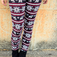 Oh My Deer Leggings