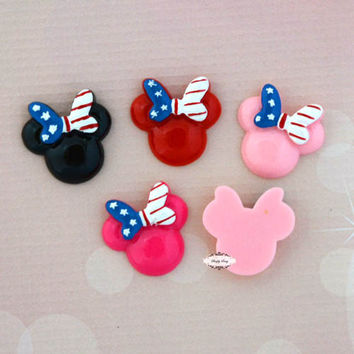25pcs Minnie Mouse Resins RD457