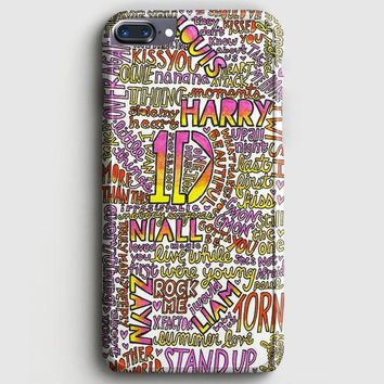 One Direction Harry Styles Tattoos iPhone 8 Plus Case | casescraft