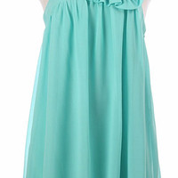 Spring Bouquet Dress - Mint