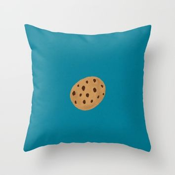 Cookie Throw Pillow by 💐JadeRose