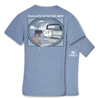 Southern Couture Priority Football Tailgate Pocket Unisex T-Shirt