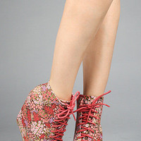 The Hedy Shoe in Red Multi : *Sole Boutique : Karmaloop.com - Global Concrete Culture