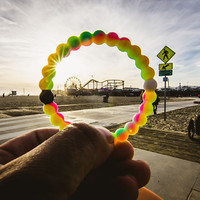 [FREE SHIPPING] Neon LOKAI (Make A Wish mix color Bracelet)