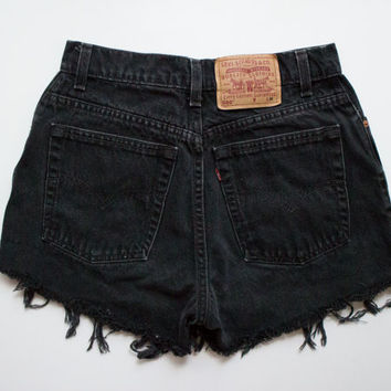 "ALL SIZES Vintage ""CRONUS"" Levis High Waisted Denim Shorts"