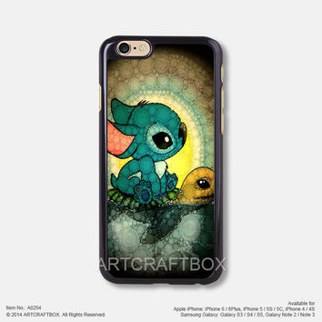 Stitch and Turtle Disney iPhone 6 6 Plus case iPhone 5s 5C case 254