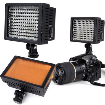 Hot sale HD-160 L Studio Video Light Lamp for Canon Nikon Camera DV Camcorder D_L = 1713284804