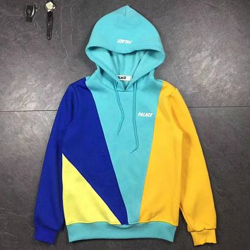 PALACE Woman Men Fashion Hoodie Top Sweater Pullover